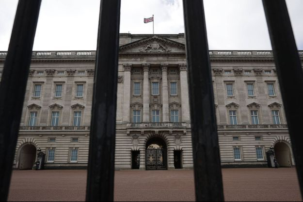 Le palais de Buckingham Palace.