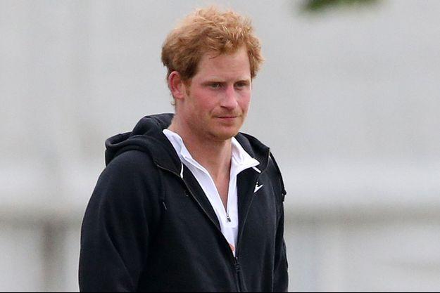 Le prince Harry le 31 mai 2015