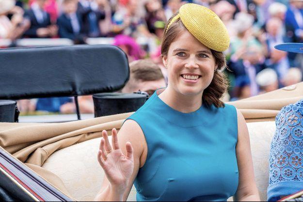 Eugenie d'York au Royal Ascot, en juin 2019