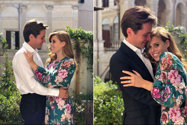 Photos officielles des fiançailles de la princesse Beatrice d'York et d'Edoardo Mapelli Mozzi prises en Italie et dévoilées le 26 septembre 2019