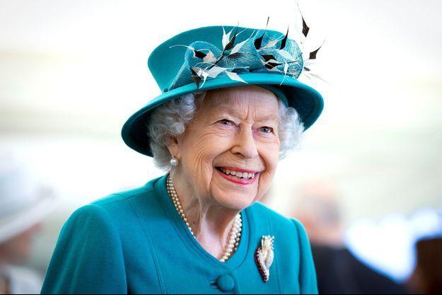 La reine Elizabeth II à Edimbourg, le 1er juillet 2021