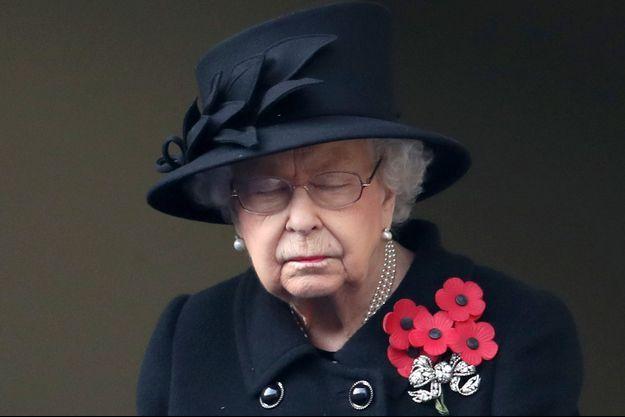 La reine Elizabeth II, le 8 novembre 2020