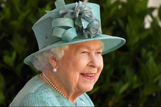 La reine Elizabeth II à Windsor, le 13 juin 2020