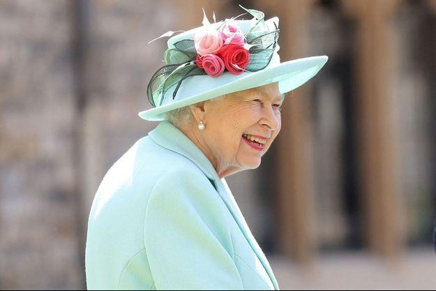 La reine Elizabeth II à Windsor, le 17 juillet 2020