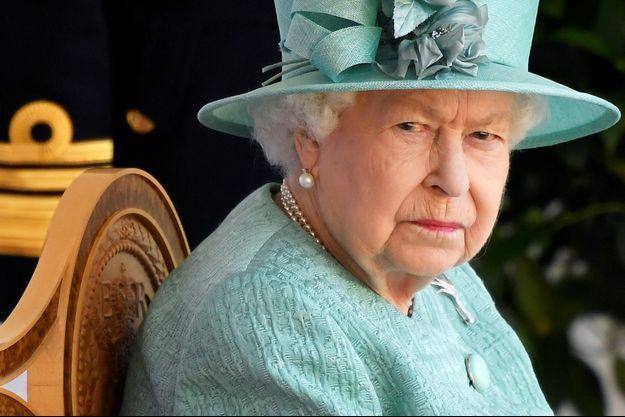 La reine Elizabeth II, le 13 juin 2020