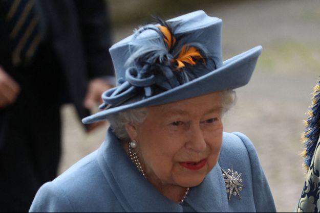 La reine Elizabeth II à Londres, le 9 mars 2020