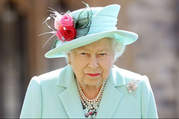 La reine Elizabeth II, le 17 juillet 2020