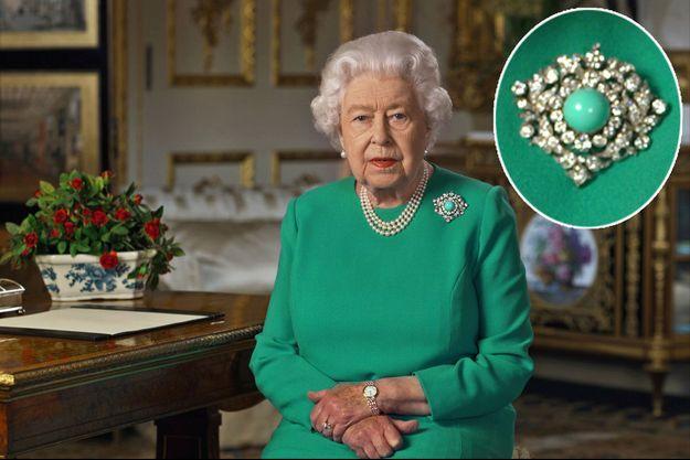 La reine Elizabeth II, lors de son discours télévisé diffusé le 5 avril 2020