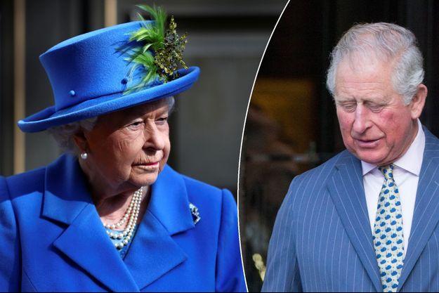La reine Elizabeth II le 14 février 2019. Le prince Charles le 11 mars 2019