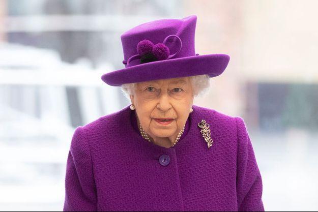 La reine Elizabeth en déplacement à Londres, le 19 février 2020