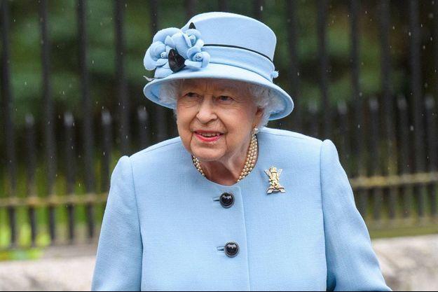 La reine Elizabeth II, le 6 août 2019