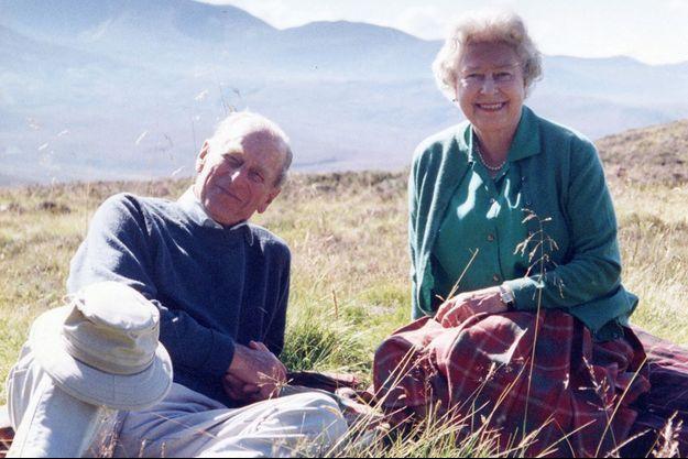 Le duc d'Edimbourg et la reine en Ecosse en 2003