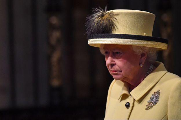 La reine Elizabeth II à Londres, le 13 mars 2017