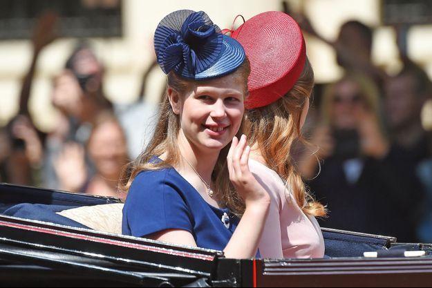 Lady Louise Windsor à Londres, le 9 juin 2018