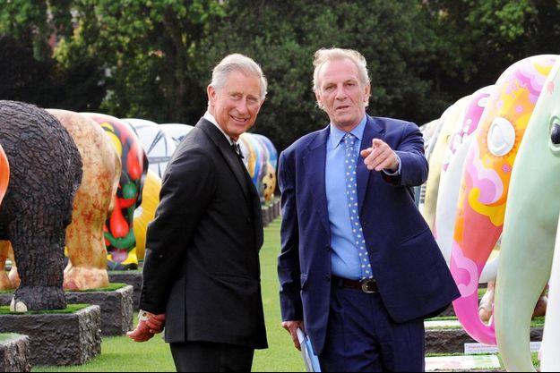Mark Shand, avec le prince Charles en 2010