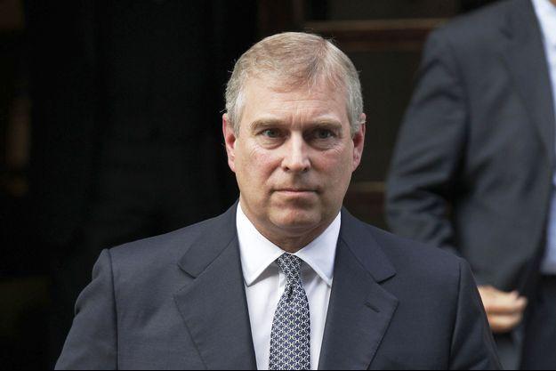 Le prince Andrew, duc d'York, second fils de la reine Elizabeth et cinquième position dans l'ordre de succession au trône britannique.