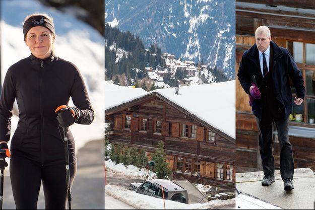 Sarah Ferguson et le prince Andrew auraient acquis un luxueux chalet à Verbier en Suisse