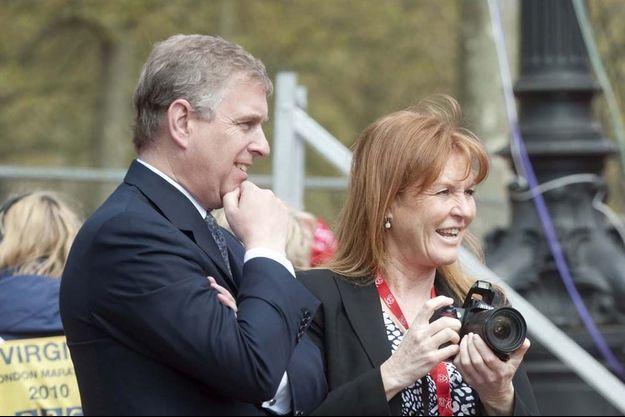 Le prince Andrew et la duchesse d'York Sarah Ferguson, en 2010.
