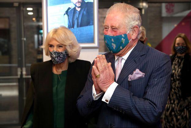 Le prince Charles et la duchesse de Cornouailles Camilla, le 3 décembre 2020