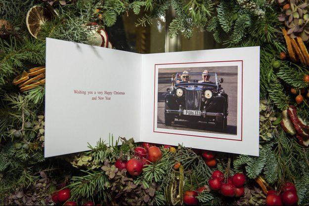La carte de vœux du prince Charles et de la duchesse de Cornouailles Camilla, révélée le 20 décembre 2019