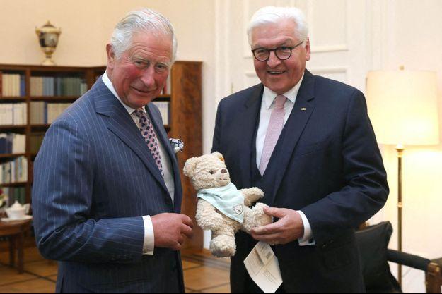 Le prince Charles et le président allemand Frank-Walter Steinmeier à Berlin, le 7 mai 2019