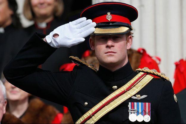 Le prince Harry à Londres, le 13 mars 2015