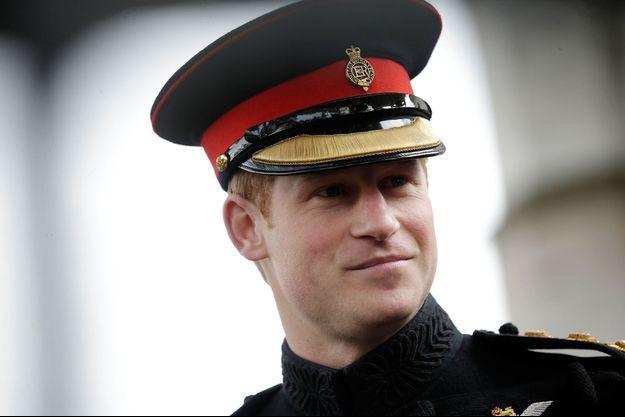 Le prince Harry à Londres, le 6 novembre 2014