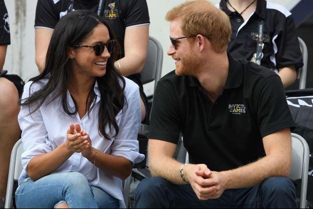 Meghan Markle et le prince Harry en septembre dernier, à Toronto.