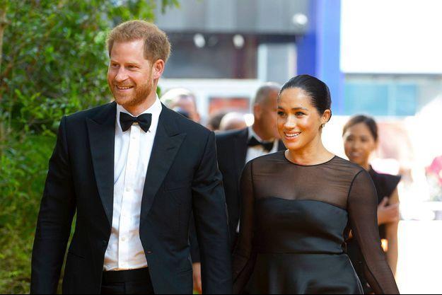 Le prince Harry et Meghan Markle en juillet 2019 à Londres