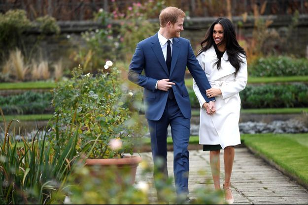 Le prince Harry et Meghan Markle le lundi 27 novembre.