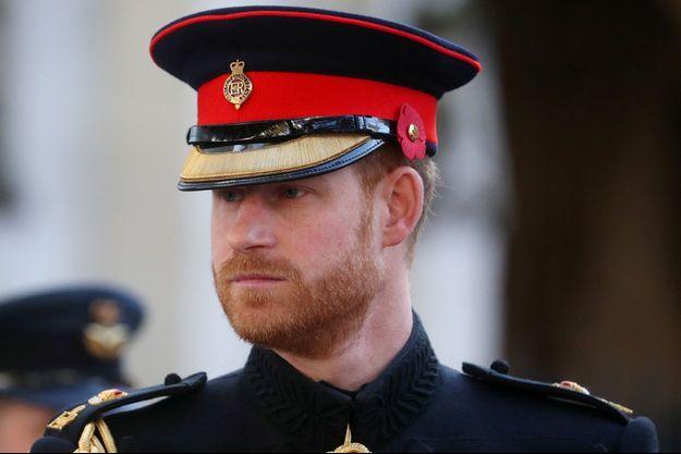 Le prince Harry le 7 novembre, à Londres.