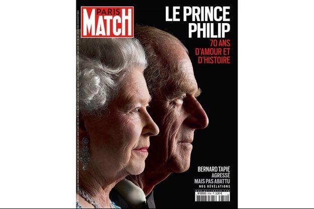 La couverture du numéro 3754 de Paris Match.