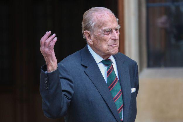 Le prince Philip à Windsor, le 22 juillet 2020