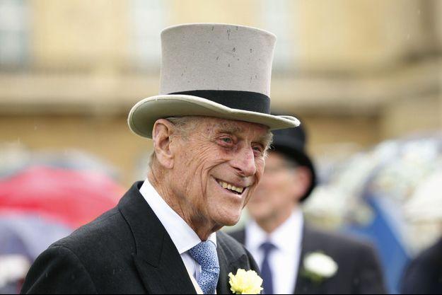 Le prince Philip, duc d'Edimbourg, mari de la reine Elizabeth, en 2014.
