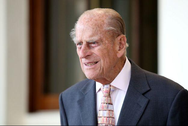 Le Prince Philip à Buckingham, en juillet 2017.