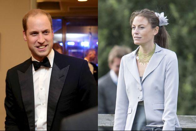 Le prince William et Jecca Craig