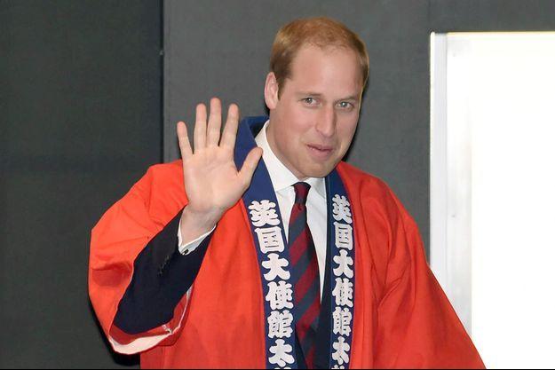 Le prince William vendredi à Tokyo.