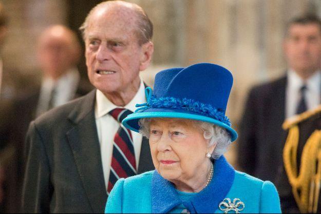 La reine Elizabeth II et le prince Philip le 26 mars 2015 à Canterbury