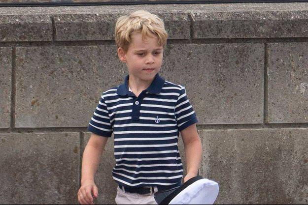 Le prince George en août 2019