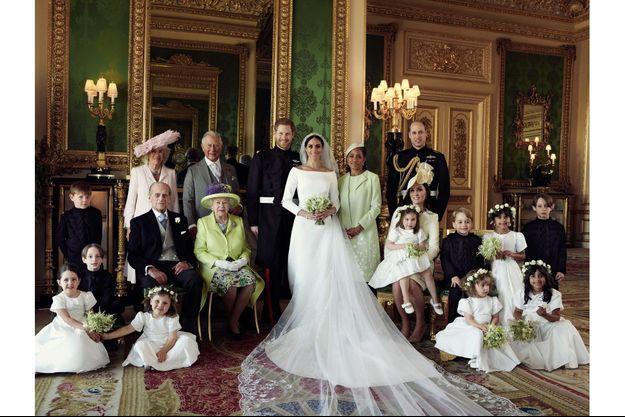 La famille royale à Windsor.