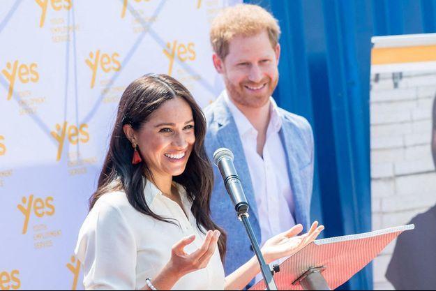 Meghan et Harry en Afrique du Sud en octobre 2019