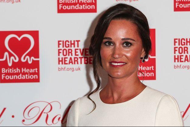 Pippa Middleton, ici le 11 février 2016, est ambassadrice pour la British Heart Foundation
