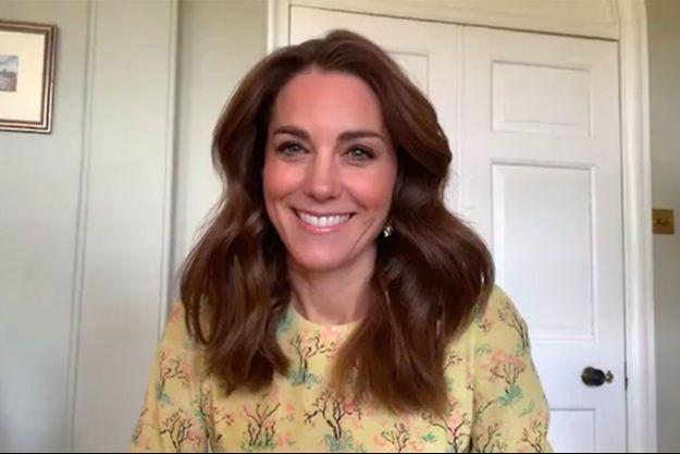Kate Middleton dans l'émission «This Morning» sur la chaîne anglaise ITV le 7 mai 2020