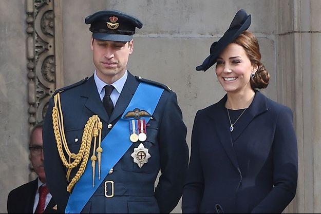 Le prince William et Kate à Londres, le 13 mars 2015