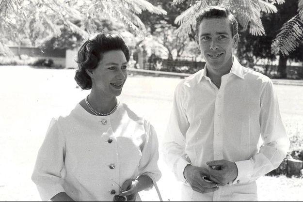 Antony Armstrong-Jones, Lord Snowdon et la princesse Margaret à Antigua en 1962