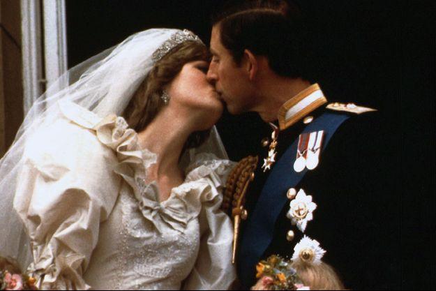 Diana Spencer a épousé le prince Charles le 29 juillet 1981