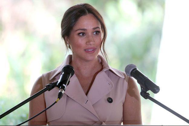 Meghan Markle en Afrique du Sud le 2 octobre 2019