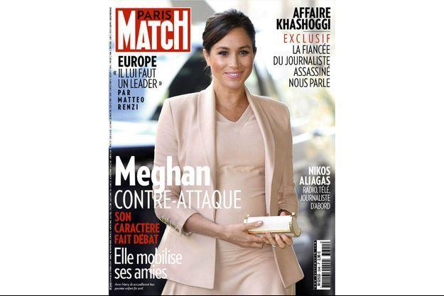 La couverture du numéro 3640 de Paris Match.
