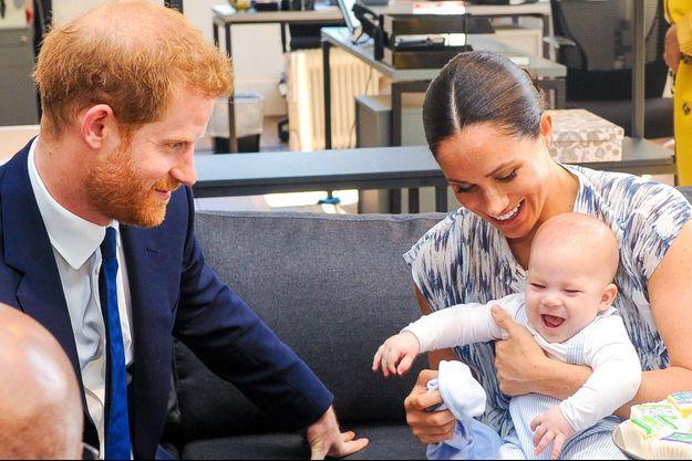 Harry, Meghan et Archie en 2019