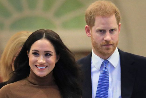 Meghan Markle et Harry de Sussex à Londres en février 2020.